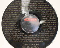 DONNA-SUMMER-VINYL-LP-ETCHED-W-ARTISTS-SONG-LYRICS-LTD-EDITION-FREE-SHIPPING-171399752326