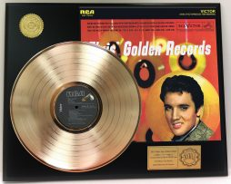 ELVIS-PRESLEY-GOLD-RECORDS-GOLD-LP-LTD-EDITION-RARE-RECORD-DISPLAY-171237219816