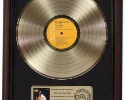 ELVIS-PRESLEY-PURE-GOLD-GOLD-LP-RECORD-FRAMED-CHERRYWOOD-DISPLAY-K1-172205716316