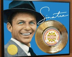 FRANK-SINATRA-LTD-LASER-ETCHED-W-LYRICS-TO-MY-WAY-POSTER-ART-GOLD-RECORD-171387593126