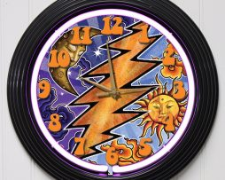 GRATEFUL-DEAD-3-15-PURPLE-NEON-ROCK-N-ROLL-WALL-CLOCK-K1-172219422636