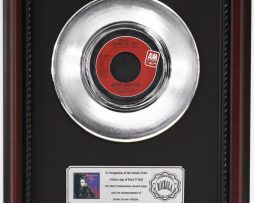 JANET-JACKSON-WHEN-I-THINK-OF-YOU-PLATINUM-RECORD-FRAMED-CHERRYWOOD-DISPLAY-K1-172204432876