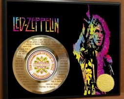 LED-ZEPPELIN-ETCHED-WITH-LYRICS-TO-STAIRWAY-TO-HEAVEN-POSTER-ART-GOLD-RECORD-171387619476