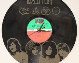 LED-ZEPPELIN-LASER-ETCHED-VINYL-LP-RECORD-WALL-CLOCK-FREE-SHIPPING-181902185846