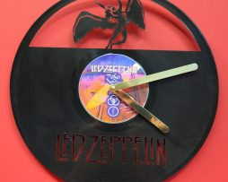 LED-ZEPPELIN-LP-VINYL-RECORD-CLOCK-LASER-CUT-ZOSO-DESIGN-AND-PLAYS-BLACK-DOG-170988208686