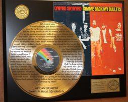 LYNYRD-SKYNYRD-GOLD-LP-LASER-ETCHED-W-LYRICS-PLAYS-GIMME-BACK-MY-BULLETS-181107927766