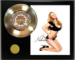 MARIAH-CAREY-GOLD-45-RECORD-SIGNATURE-SERIES-LTD-EDITION-FREE-US-SHIPPING-171241948626