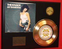 THE-KNACK-MY-SHARONA-GOLD-45-RECORD-LIMITED-EDITION-DISPLAY-170811257176