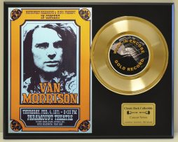 VAN-MORRISON-LTD-EDITION-CONCERT-POSTER-SERIES-GOLD-45-DISPLAY-SHIPS-FREE-171146401566