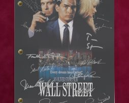 WALL-STREET-MOVIE-SCRIPT-WITH-REPRODUCTION-SIGNATURES-Sheen-Douglas-C3-172257948386
