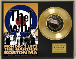 WHO-LTD-EDITION-CONCERT-POSTER-SERIES-GOLD-45-DISPLAY-SHIPS-FREE-181235798626