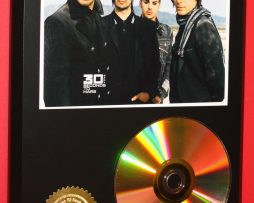 30-SECONDS-TO-MARS-LTD-24kt-GOLD-CD-DISC-LIMITED-EDITION-DISPLAY-181429609577