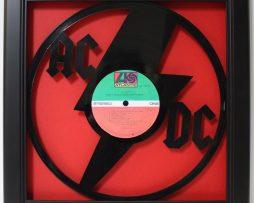 ACDC-Framed-Laser-Cut-Black-Vinyl-Record-in-Shadowbox-Wallart-182327900117