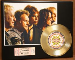 AEROSMITH-CONCERT-TICKET-SERIES-GOLD-RECORD-LTD-EDITION-DISPLAY-181427999987