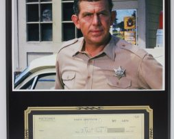 ANDY-GRIFFITH-OF-MAYBERRY-REPRODUCTION-SIGNED-LIMITED-EDITION-CHECK-DISPLAY-182160072387