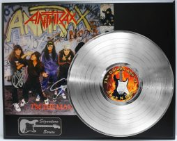 ANTHRAX-PLATINUM-LP-LIMITED-EDITION-REPRODUCTION-SIGNATURE-RECORD-DISPLAY-172072551907