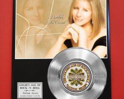 BARBRA-STREISAND-PLATINUM-RECORD-LIMITED-EDITION-RARE-COLLECTIBLE-MUSIC-AWARD-170851815817