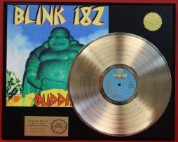 BLINK-182-BUDDHA-24KT-GOLD-LP-LTD-EDITION-RARE-RECORD-DISPLAY-AWARD-QUALITY-170992284097