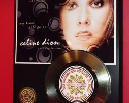 CELINE-DION-GOLD-45-RECORD-LIMITED-EDITION-DISPLAY-170644117617