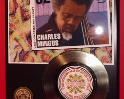 CHARLES-MINGUS-GOLD-45-RECORD-LTD-EDITION-DISPLAY-AWARD-QUALITY-SHIPS-FREE-171045408727