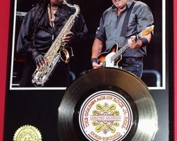 CLARENCE-CLEMONS-GOLD-RECORD-45-LIMITED-EDITION-DISPLAY-170658098467
