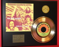 CREEDENCE-CLEARWATER-REVIVAL-GOLD-45-RECORD-PROUD-MARY-LTD-EDITION-170797385657