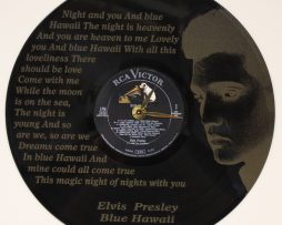 ELVIS-PRESLEY-2-LASER-ETCHED-VINYL-LP-RECORD-WALL-CLOCK-FREE-SHIPPING-181902159067