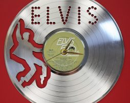 ELVIS-PRESLEY-3-LASER-CUT-PLATINUM-PLATED-LP-RECORD-WALL-CLOCK-FREE-SHIPPING-171964798537