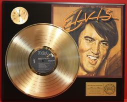 ELVIS-PRESLEY-WELCOME-TO-MY-WORLD-GOLD-LP-LTD-EDITION-RECORD-CLOCK-DISPLAY-171343685597