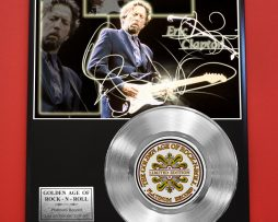 ERIC-CLAPTON-PLATINUM-RECORD-LTD-EDITION-RARE-COLLECTIBLE-MUSIC-GIFT-AWARD-180903360637