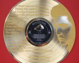 Elvis-Presley-Blue-Hawaii-Gold-Laser-Etched-Ltd-Edition-12-LP-Wall-Display-171298941217