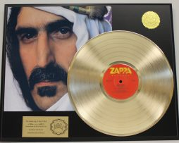 FRANK-ZAPPA-GOLD-LP-LTD-RECORD-DISPLAY-SHEIK-YERBOUTI-FREE-US-SHIPPING-181148252037