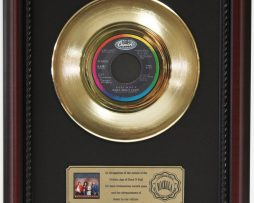 HEART-WHAT-ABOUT-LOVE-GOLD-RECORD-CUSTOM-FRAMED-CHERRYWOOD-DISPLAY-K1-182089338417