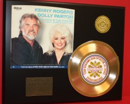 KENNY-ROGERS-DOLLY-PARTON-LTD-EDITION-GOLD-45-RECORD-SLEEVE-ART-DISPLAY-171361771417