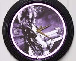 LED-ZEPPELIN-2-15-PURPLE-NEON-ROCK-N-ROLL-WALL-CLOCK-K1-172219422597