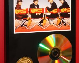 MONKEES-24kt-GOLD-CDDISC-COLLECTIBLE-RARE-AWARD-QUALITY-PLAQUE-180861211807