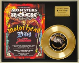 MOTORHEAD-LTD-EDITION-CONCERT-POSTER-SERIES-GOLD-45-DISPLAY-181427869057
