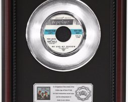 RAT-PACK-ME-AND-MY-SHADOW-PLATINUM-FRAMED-RECORD-CHERRYWOOD-DISPLAY-K1-172204467027