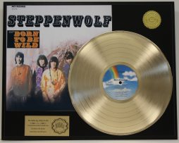 STEPPENWOLF-GOLD-LP-LTD-RECORD-DISPLAY-BORN-TO-BE-WILD-FREE-US-SHIPPING-171047810827