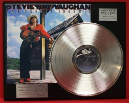 STEVIE-RAY-VAUGHAN-PLATINUM-LP-LTD-EDITION-RECORD-DISPLAY-AWARD-QUALITY-170927848607