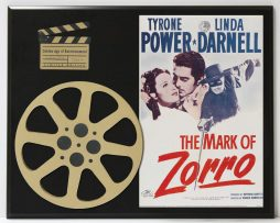 TYRONE-POWER-IN-THE-MARK-OF-ZORRO-LIMITED-EDITION-MOVIE-REEL-DISPLAY-172248328467