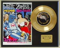 WHITE-ZOMBIE-LTD-EDITION-CONCERT-POSTER-SERIES-GOLD-45-DISPLAY-SHIPS-FREE-181235797797