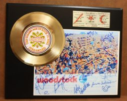 WOODSTOCK-CONCERT-TICKET-SERIES-GOLD-RECORD-LTD-EDITION-DISPLAY-181428069067