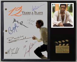 12-YEARS-A-SLAVE-LTD-EDITION-REPRODUCTION-MOVIE-SCRIPT-CINEMA-DISPLAY-C3-182065198848