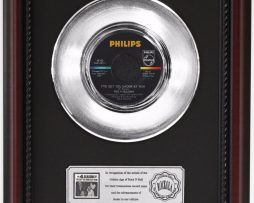 4-SEASONS-IVE-GOT-YOU-PLATINUM-RECORD-FRAMED-CHERRYWOOD-DISPLAY-K1-182128846378