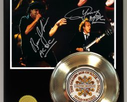 ACDC-GOLD-45-RECORD-SIGNATURE-SERIES-LTD-EDITION-DISPLAY-FREE-US-SHIPPING-181320718748