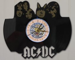 ACDC-LASER-CUT-VINYL-LP-RECORD-WALL-CLOCK-FREE-SHIPPING-171997656988
