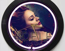 ADELE-15-PURPLE-NEON-ROCK-N-ROLL-WALL-CLOCK-K1-172219422628