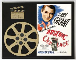 ARSENIC-AND-OLD-LACE-CARY-GRANT-CLASSIC-LIMITED-EDITION-MOVIE-REEL-DISPLAY-182164371948