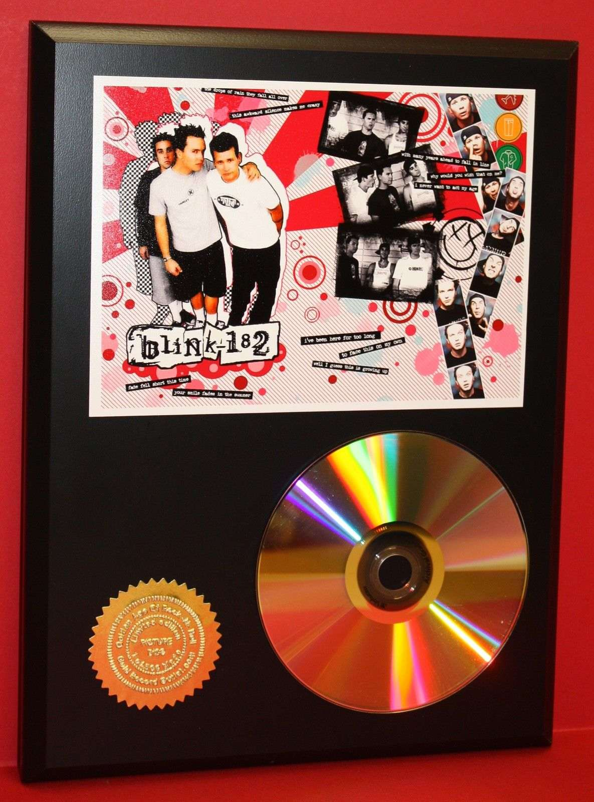 big time rush 24 kt ltd edition gold cd plaque free u s priority shipping gold record awards. Black Bedroom Furniture Sets. Home Design Ideas